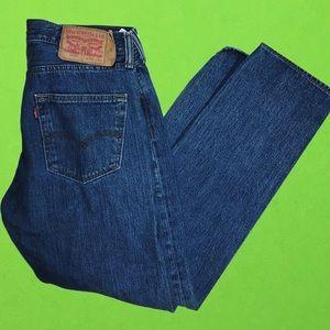 Vintage Levi 501s size 30 x 30 straight leg jeans